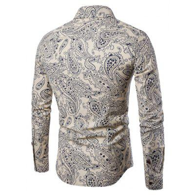 Men Slim Long-Sleeved Plus Sizes ShirtsMens Shirts<br>Men Slim Long-Sleeved Plus Sizes Shirts<br><br>Collar: Turn-down Collar<br>Material: Cotton, Cotton Blends<br>Package Contents: 1xShirt<br>Shirts Type: Casual Shirts<br>Sleeve Length: Full<br>Weight: 0.2000kg