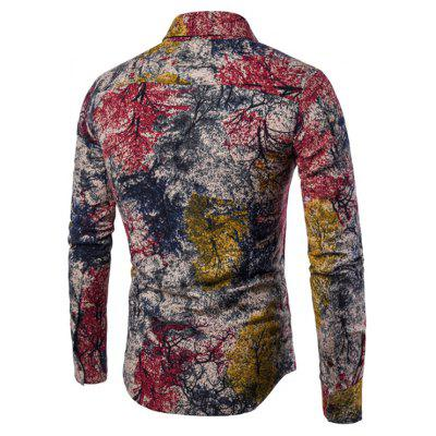 ManS Long Sleeve Digital Print Shirt Plus SizesMens Shirts<br>ManS Long Sleeve Digital Print Shirt Plus Sizes<br><br>Collar: Turn-down Collar<br>Material: Cotton, Cotton Blends<br>Package Contents: 1xShirts<br>Shirts Type: Casual Shirts<br>Sleeve Length: Full<br>Weight: 0.2000kg