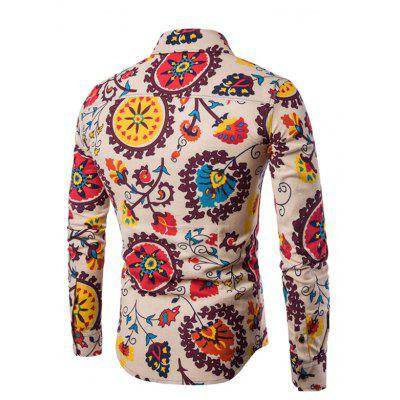 MenS English Style Long-Sleeve Digital Printed Shirt Plus SizesMens Shirts<br>MenS English Style Long-Sleeve Digital Printed Shirt Plus Sizes<br><br>Collar: Turn-down Collar<br>Material: Cotton, Cotton Blends<br>Package Contents: 1xShirts<br>Shirts Type: Casual Shirts<br>Sleeve Length: Full<br>Weight: 0.2000kg