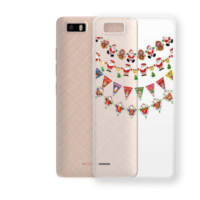 Christmas Decoration Pattern TPU Soft Phone Case for TECNO W3