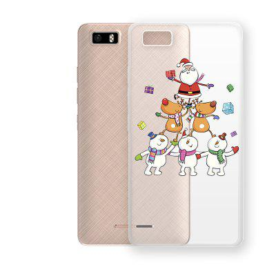 Merry Christmas Pattern TPU Soft Phone Case for TECNO W3