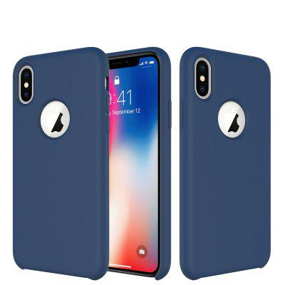 Macarons Color TPU Silicone Frosted Matte Case para iPhone X Soft Back Cover para iPhone X Case