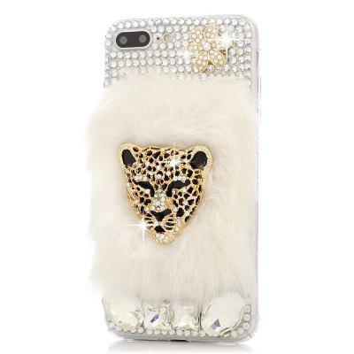 For iPhone 7 Plus/8 Plus Case 3D Handmade Crystal Shiny Diamonds Colorful Gems Rhinestone Clear Case Full Edge Cover