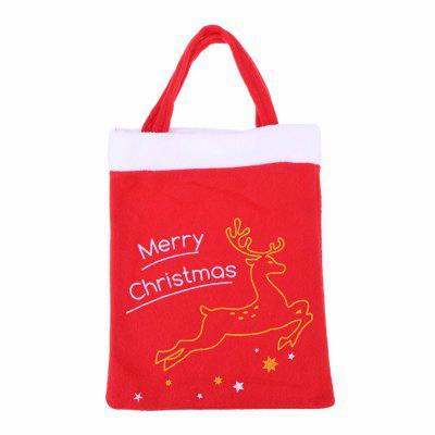 Christmas Santa Claus Candy Bag Handbag Home Children Christmas Tree Decor Gift Bags Merry Christmas Decoration Supplies