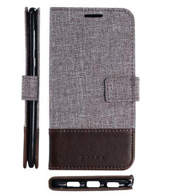MUXMA Pure Color Retro Canvas Texture PU Leather Case Cover for Huawei Mate 9 LiteCases &amp; Leather<br>MUXMA Pure Color Retro Canvas Texture PU Leather Case Cover for Huawei Mate 9 Lite<br><br>Compatible Model: Huawei Mate 9 Lite<br>Features: Full Body Cases, Stickers, With Credit Card Holder, Anti-knock, Dirt-resistant<br>Mainly Compatible with: HUAWEI<br>Material: Textile, TPU, PU Leather<br>Package Contents: 1 x Phone Case<br>Package size (L x W x H): 20.00 x 10.00 x 3.00 cm / 7.87 x 3.94 x 1.18 inches<br>Package weight: 0.0520 kg<br>Product weight: 0.0460 kg<br>Style: Vintage, Stripe Pattern