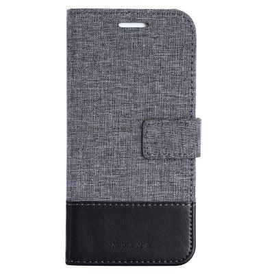 MUXMA Pure Color Retro Canvas Texture PU Leather Case Cover for Samsung Galaxy S7 EdgeSamsung S Series<br>MUXMA Pure Color Retro Canvas Texture PU Leather Case Cover for Samsung Galaxy S7 Edge<br><br>Features: Full Body Cases, Cases with Stand, With Credit Card Holder, Anti-knock, Dirt-resistant<br>Material: Textile, TPU, PU Leather<br>Package Contents: 1 x Phone Case<br>Package size (L x W x H): 20.00 x 10.00 x 3.00 cm / 7.87 x 3.94 x 1.18 inches<br>Package weight: 0.0520 kg<br>Product weight: 0.0460 kg<br>Style: Vintage, Stripe Pattern