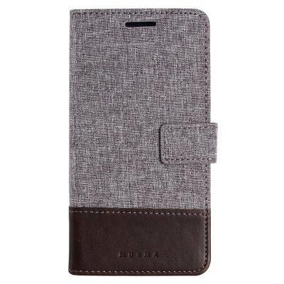 MUXMA Pure Color Retro Canvas Texture PU Leather Case Cover for Redmi Note 4XCases &amp; Leather<br>MUXMA Pure Color Retro Canvas Texture PU Leather Case Cover for Redmi Note 4X<br><br>Compatible Model: Redmi Note 4X<br>Features: Full Body Cases, Cases with Stand, With Credit Card Holder, Anti-knock, Dirt-resistant<br>Material: Textile, TPU, PU Leather<br>Package Contents: 1 x Phone Case<br>Package size (L x W x H): 20.00 x 10.00 x 3.00 cm / 7.87 x 3.94 x 1.18 inches<br>Package weight: 0.0530 kg<br>Product weight: 0.0460 kg<br>Style: Vintage, Stripe Pattern