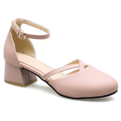 New Rough Round Head Women's Shoes
