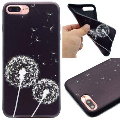 Dandelion Pattern TPU Soft Case para iPhone 7 Plus / 8 Plus