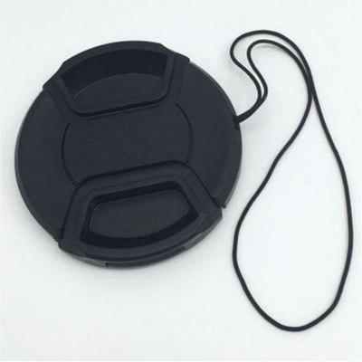 72mm Detachable Lens Cap Extra Strong Springs Is Compafortible with Nikon Canon Sony and Other SLR Cameras