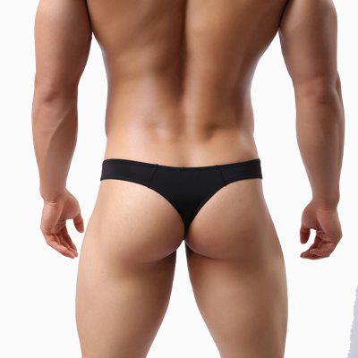 MenS Sexy Underwear with Thin Ice Silk UnderpantsMens Underwear &amp; Pajamas<br>MenS Sexy Underwear with Thin Ice Silk Underpants<br><br>Decoration: Lace<br>Feature: Breathable<br>Item Type: Low Waist Underwear<br>Material: Polyester<br>Package Contents: 1 x briefs<br>Package size (L x W x H): 1.00 x 1.00 x 1.00 cm / 0.39 x 0.39 x 0.39 inches<br>Package weight: 0.0300 kg<br>Pattern Type: Solid<br>Waist Type: Low