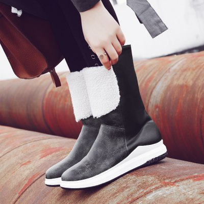 Fur Thick Waterproof Warm Flat Short Tube BootsWomens Boots<br>Fur Thick Waterproof Warm Flat Short Tube Boots<br><br>Boot Height: Ankle<br>Boot Type: Snow Boots<br>Closure Type: Slip-On<br>Gender: For Women<br>Heel Type: Flat Heel<br>M203: None<br>Package Contents: 1xShoes(pair)<br>Pattern Type: Patchwork<br>Season: Winter<br>Toe Shape: Round Toe<br>Upper Material: PU<br>Weight: 1.0000kg