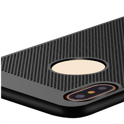 Ultra-thin Heat Dissipation Ventilation Mesh Grid Hard PC Cover Case for Iphone XiPhone Cases/Covers<br>Ultra-thin Heat Dissipation Ventilation Mesh Grid Hard PC Cover Case for Iphone X<br><br>Compatible for Apple: iPhone X<br>Features: Back Cover, Button Protector<br>Material: PC<br>Package Contents: 1 X Phone Case<br>Package size (L x W x H): 16.00 x 8.00 x 2.00 cm / 6.3 x 3.15 x 0.79 inches<br>Package weight: 0.0230 kg<br>Product size (L x W x H): 14.00 x 6.80 x 1.20 cm / 5.51 x 2.68 x 0.47 inches<br>Product weight: 0.0180 kg<br>Style: Grid Pattern, Ultra Slim