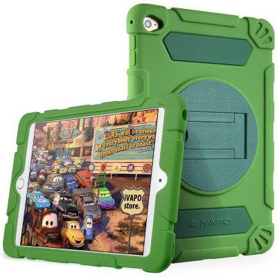 iVAPO for iPad Mini 4 Case Kids Heavy Duty Thick Armor Hybrid Rugged Silicone Shock Proof Absorbing Protective Case with Kickstand
