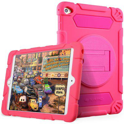 iVAPO para iPad Mini 4 Case Kids Heavy Duty Thous Armor Hybrid Rugged Silicone Shock Proof Absorbing Case protetora com Kickstand