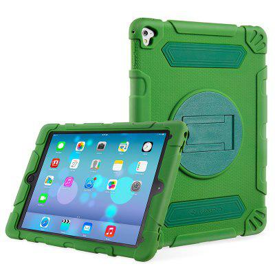 iVAPO for iPad Pro 9.7 Inch Case 2016 Heavy Duty Kickstand Style Hybrid Rugged Silicone Protective Armorbox Case