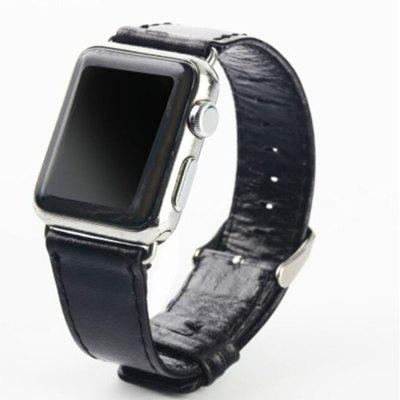 Crazy-Horse Leather Sport Watch Band Strap for Apple Watch Series 1/ 2