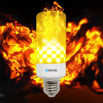 BRELONG LED Flame Light Bulb Emulation Flaming Decorative Lamp - E27
