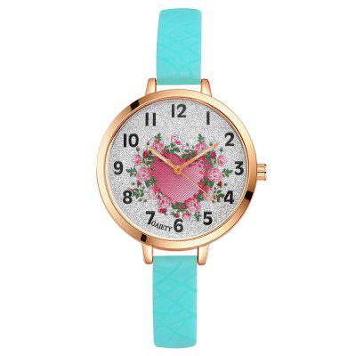 GAIETY G283 Ladies Fashion Silicone Watch