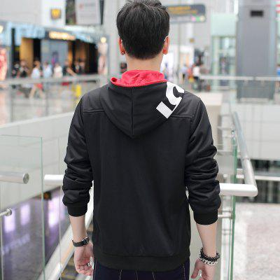 Men Letters Printed Hooded CoatPlus Size Outerwear<br>Men Letters Printed Hooded Coat<br><br>Clothes Type: Others<br>Collar: Hooded<br>Crafts: Printing<br>Material: Polyester<br>Occasion: Daily Use<br>Package Contents: 1 x coat<br>Season: Fall<br>Shirt Length: Regular<br>Sleeve Length: Long Sleeves<br>Style: Casual<br>Weight: 0.5000kg
