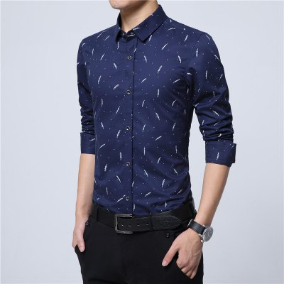 ManS Personality, Large Size Long Sleeved ShirtPlus Size Tops<br>ManS Personality, Large Size Long Sleeved Shirt<br><br>Collar: Turn-down Collar<br>Material: Cotton<br>Package Contents: 1 x Shirt<br>Shirts Type: Casual Shirts<br>Sleeve Length: Full<br>Weight: 0.2500kg