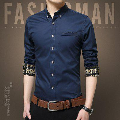 MenS Fake Pockets Adorn Long Sleeved ShirtsMens Shirts<br>MenS Fake Pockets Adorn Long Sleeved Shirts<br><br>Collar: Turn-down Collar<br>Material: Cotton<br>Package Contents: 1 x Shirts<br>Shirts Type: Casual Shirts<br>Sleeve Length: Full<br>Weight: 0.2500kg