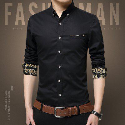MenS Large Size Cotton Long Sleeved ShirtsPlus Size Tops<br>MenS Large Size Cotton Long Sleeved Shirts<br><br>Collar: Turn-down Collar<br>Material: Cotton<br>Package Contents: 1 x Shirts<br>Shirts Type: Casual Shirts<br>Sleeve Length: Full<br>Weight: 0.2500kg