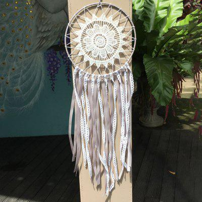 Handmade Dream Catcher Кружева Цветочная кисточка Big Dream Catcher Настенная витрина для дома Декоративные украшения для ремесла Подарки для Dreamcatche