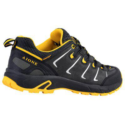AIONE Mens Waterproof and Antiskid Hiking Shoes