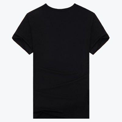 Mens Daily  Work Active Punk  Gothic Summer T-shirt Print Round Neck Short Sleeves CottonMens T-shirts<br>Mens Daily  Work Active Punk  Gothic Summer T-shirt Print Round Neck Short Sleeves Cotton<br><br>Collar: Round Neck<br>Material: Cotton<br>Package Contents: 1 X T-shirt<br>Pattern Type: Character<br>Sleeve Length: Short Sleeves<br>Style: Casual<br>Weight: 0.2500kg
