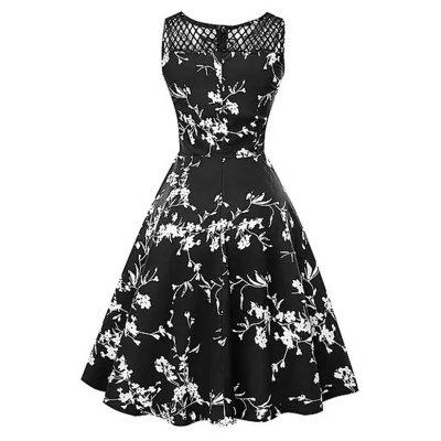 2018 New Cotton Black Flowers Retro DressWomens Dresses<br>2018 New Cotton Black Flowers Retro Dress<br><br>Dresses Length: Mid-Calf<br>Elasticity: Micro-elastic<br>Embellishment: Vintage<br>Fabric Type: Broadcloth<br>Material: Cotton<br>Neckline: Round Collar<br>Package Contents: 1 x Dress<br>Pattern Type: Print<br>Season: Spring, Winter, Fall, Summer<br>Silhouette: A-Line<br>Sleeve Length: Sleeveless<br>Sleeve Type: Off The Shoulder<br>Style: Vintage<br>Waist: Natural<br>Weight: 0.4000kg<br>With Belt: No