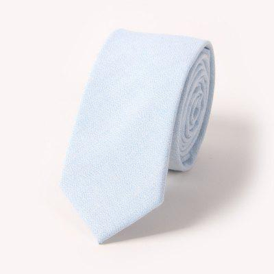 Pure Cotton Narrow Version of 65CM Leisure Men'S Tie