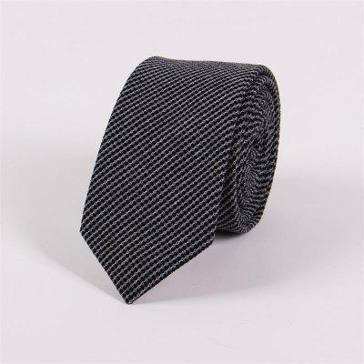 65CM Narrow Men Fashion Leisure English Jacquard Tie