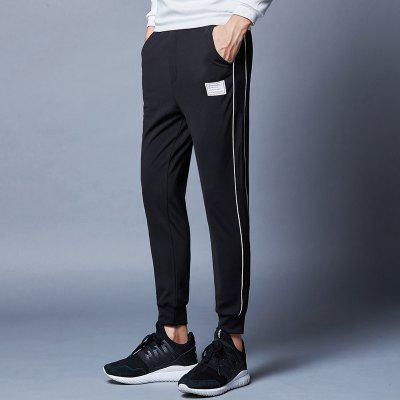 MenS Stretch Slim Sports and Leisure PantsMens Pants<br>MenS Stretch Slim Sports and Leisure Pants<br><br>Closure Type: Elastic Waist<br>Elasticity: Micro-elastic<br>Fabric Type: Herringbone<br>Fit Type: Skinny<br>Length: Normal<br>Material: Polyester, Spandex<br>Package Contents: 1x pants<br>Package size (L x W x H): 1.00 x 1.00 x 1.00 cm / 0.39 x 0.39 x 0.39 inches<br>Package weight: 0.3000 kg<br>Pant Style: Pencil Pants<br>Pattern Type: Striped<br>Style: Casual<br>Waist Type: Mid