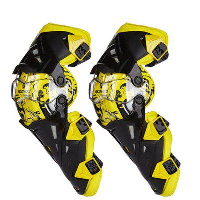 Sai Yu Knee Motorcycle Protector Riding Guard Against Fall Autumn and Winter Heating and Wind Protection Locomotive Fou