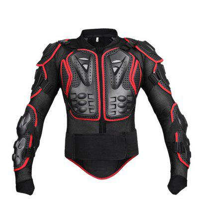 Motorcycle Bike Armor Body Armor Outdoor Sports Protective Clothing Cross-Country ArmorMotorcycle Clothing<br>Motorcycle Bike Armor Body Armor Outdoor Sports Protective Clothing Cross-Country Armor<br><br>Accessories type: Safety Protector<br>Brand: PRO-BIKER<br>Color: Black,Red<br>Function: Breathable, Windproof<br>Gender: Universal<br>Material: PE<br>Package Contents: 1 x Armor<br>Package size (L x W x H): 65.00 x 15.00 x 35.00 cm / 25.59 x 5.91 x 13.78 inches<br>Package weight: 1.5500 kg<br>Product size (L x W x H): 58.00 x 6.00 x 29.00 cm / 22.83 x 2.36 x 11.42 inches<br>Product weight: 1.4500 kg<br>Size: S,M,L,XL,XXL,XXXL<br>Type: Shirts &amp; Tops