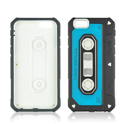 For iPhone 8 Plus Nostalgic Tape Phone Case
