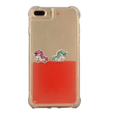 Cartoon Unicorn Horse Water Liquid Transparent Case for iPhone 7 Plus/8 Plus Soft TPU Phone Case Back CoversiPhone Cases/Covers<br>Cartoon Unicorn Horse Water Liquid Transparent Case for iPhone 7 Plus/8 Plus Soft TPU Phone Case Back Covers<br><br>Compatible for Apple: iPhone 7 Plus, iPhone 8 Plus<br>Features: Back Cover, Anti-knock, Dirt-resistant<br>Material: TPU<br>Package Contents: 1 x Phone Case<br>Package size (L x W x H): 17.00 x 8.00 x 1.20 cm / 6.69 x 3.15 x 0.47 inches<br>Package weight: 0.1000 kg<br>Style: Pattern, Cartoon, Novelty