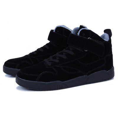 Autumn and Winter New High Plus Velvet ShoesCasual Shoes<br>Autumn and Winter New High Plus Velvet Shoes<br><br>Available Size: 39-44<br>Closure Type: Hook / Loop<br>Embellishment: None<br>Gender: For Men<br>Outsole Material: Rubber<br>Package Contents: 1xshoes(pair)<br>Pattern Type: Others<br>Season: Winter<br>Toe Shape: Round Toe<br>Toe Style: Closed Toe<br>Upper Material: Corduroy<br>Weight: 1.5840kg