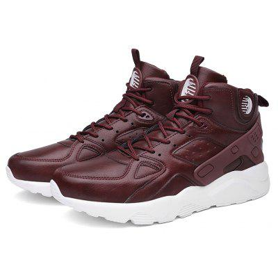 New Help in Basketball Shoes Hip-Hop Sports Running ShoesAthletic Shoes<br>New Help in Basketball Shoes Hip-Hop Sports Running Shoes<br><br>Available Size: 39-46<br>Closure Type: Lace-Up<br>Feature: Breathable<br>Gender: For Men<br>Outsole Material: Rubber<br>Package Contents: 1xshoes(pair)<br>Package Size(L x W x H): 33.00 x 20.00 x 12.00 cm / 12.99 x 7.87 x 4.72 inches<br>Package weight: 0.7000 kg<br>Pattern Type: Patchwork<br>Season: Spring/Fall<br>Upper Material: Microfiber