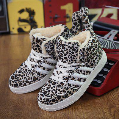 New Leopard Winter High Plus Velvet Plus Cotton Thick Warm Cotton ShoesCasual Shoes<br>New Leopard Winter High Plus Velvet Plus Cotton Thick Warm Cotton Shoes<br><br>Available Size: 36-44<br>Closure Type: Lace-Up<br>Embellishment: None<br>Gender: Unisex<br>Outsole Material: Rubber<br>Package Contents: 1xshoes(pair)<br>Pattern Type: Leopard<br>Season: Winter<br>Toe Shape: Round Toe<br>Toe Style: Closed Toe<br>Upper Material: PU<br>Weight: 1.5840kg