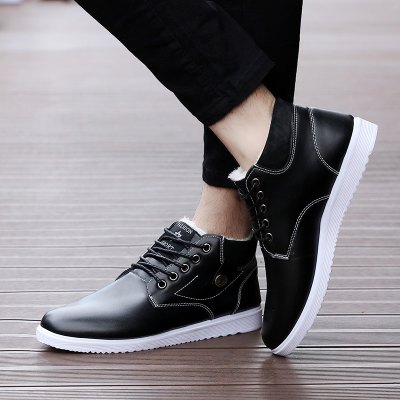 New Winter Wool and Cashmere Casual MenS ShoesCasual Shoes<br>New Winter Wool and Cashmere Casual MenS Shoes<br><br>Available Size: 39-44<br>Closure Type: Lace-Up<br>Embellishment: None<br>Gender: For Men<br>Outsole Material: Rubber<br>Package Contents: 1xshoes(paiar)<br>Pattern Type: Solid<br>Season: Winter<br>Toe Shape: Round Toe<br>Toe Style: Closed Toe<br>Upper Material: PU<br>Weight: 1.5840kg