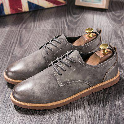 New Lightweight Autumn and Winter England Casual Tooling ShoesCasual Shoes<br>New Lightweight Autumn and Winter England Casual Tooling Shoes<br><br>Available Size: 39-44<br>Closure Type: Lace-Up<br>Embellishment: None<br>Gender: For Men<br>Outsole Material: Rubber<br>Package Contents: 1xshoes(pair)<br>Pattern Type: Solid<br>Season: Spring/Fall<br>Toe Shape: Round Toe<br>Toe Style: Closed Toe<br>Upper Material: Microfiber<br>Weight: 1.5840kg
