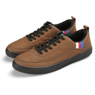 Mens Sneakers Faux Leather Lace Up Lightweight ShoesCasual Shoes<br>Mens Sneakers Faux Leather Lace Up Lightweight Shoes<br><br>Available Size: 39,40,41,42,43,44<br>Closure Type: Elastic band<br>Embellishment: None<br>Gender: For Men<br>Outsole Material: Rubber<br>Package Contents: 1 x Shoes(pair)<br>Pattern Type: Others<br>Season: Summer, Winter, Spring/Fall<br>Toe Shape: Round Toe<br>Toe Style: Closed Toe<br>Upper Material: Pigskin<br>Weight: 1.8000kg