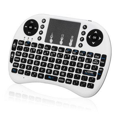 2.4Ghz Wireless Air Mouse Mini Keyboard Smart Remote I8 with Touchpad