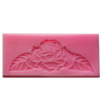 Rose Leaf Shape Silicone Mold Gift Decoration Fondant Soap Chocolate Mould Handmade Gift Fondant Fimo