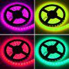 HML 5M Waterproof 72W 5050 RGB LED Strip Light with 20 Keys Music Remote Control And EU Adapter - RGB
