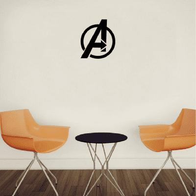Sph-5 Circle Letter Arrow Pattern Wall Stickers Cartoon Vinyl Wall Decal Home Decoration