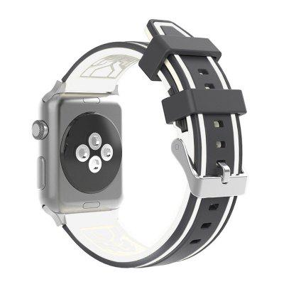 LEEHUR Soft Silicone Band Sport Style Replacement Wrist Strap Bracelet for Apple Watch Series 3/2/1  38mmApple Watch Bands<br>LEEHUR Soft Silicone Band Sport Style Replacement Wrist Strap Bracelet for Apple Watch Series 3/2/1  38mm<br><br>Available brand: iWatch<br>Material: Silicone<br>Package Contents: 1 X Watch Band<br>Package size (L x W x H): 22.50 x 5.00 x 2.00 cm / 8.86 x 1.97 x 0.79 inches<br>Package weight: 0.0620 kg<br>Type: Smart watch / wristband band