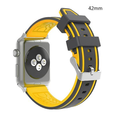 LEEHUR Soft Silicone Band Sport Style Replacement Wrist Strap Bracelet for Apple Watch Series 3/2/1  42mmApple Watch Bands<br>LEEHUR Soft Silicone Band Sport Style Replacement Wrist Strap Bracelet for Apple Watch Series 3/2/1  42mm<br><br>Available brand: iWatch<br>Material: Silicone<br>Package Contents: 1 X Watch Band<br>Package size (L x W x H): 22.50 x 5.00 x 2.00 cm / 8.86 x 1.97 x 0.79 inches<br>Package weight: 0.0640 kg<br>Type: Smart watch / wristband band